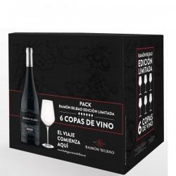 Pack Ramon Bilbao Edición Limitada 6 copas de vino
